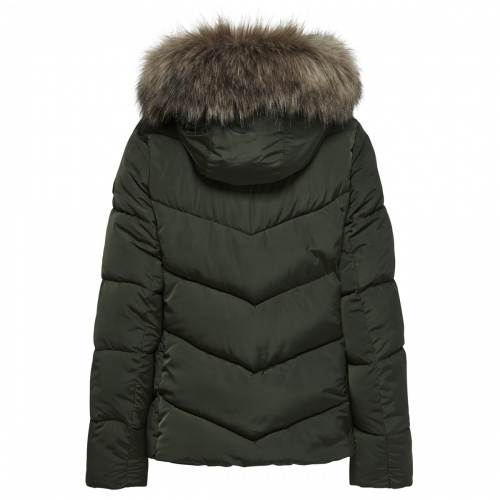 ONLROONA KUIL TED JACKET BACK