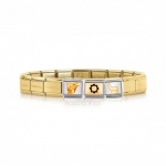 Pulsera Teruel Completa Composable #f7df00